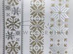 Karácsonyi mintás Transzparens papír