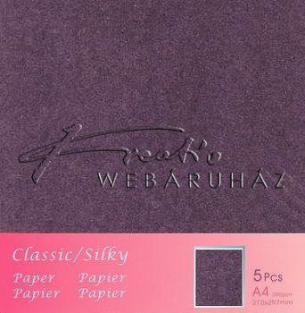 Metál fényű papír - Amethyst - Lila színű karton 250gr - kétoldalas