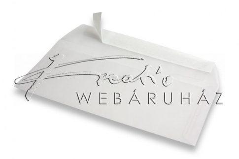 Transzparens boríték, 11,2x15,5 cm - 3db