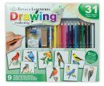 Hobby művész - Grafikai ajándékkészlet -Színes madarak