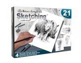 Rajztanitas - Grafikai készlet - Rajzolj könnyen állatkerti állatokat!