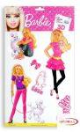 3D Falmatrica - Barbie  kutyasétáltató