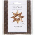 Origami papír - Oslo, csillag minta