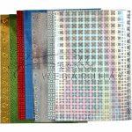 Holografikus papír - Vegyes színek és minták, 8 lap, A4