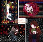 Színes képkarcoló füzet - Jó éjszakát! - 4 színes képpel, karctűvel, 15x20 cm