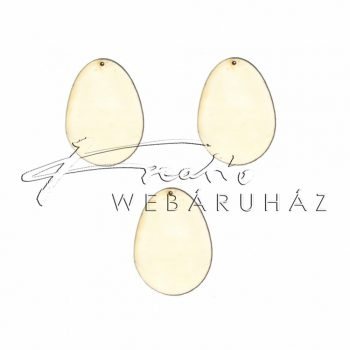 Fafigura tojás 5 kicsi