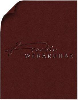 Red Wine - Vörösbor színű arany-fényű MagnaMet karton papír 110gr, egyoldalas - 10 lap/csomag