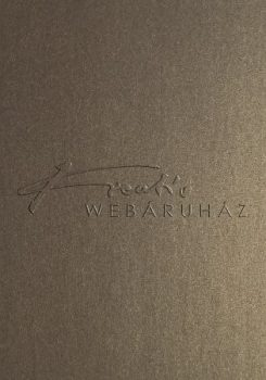 Metál fényű papír - Mélyarany színű metál-fényű fényű MagnaMet karton papír 220gr, Kétoldalas - 5 lap/csomag