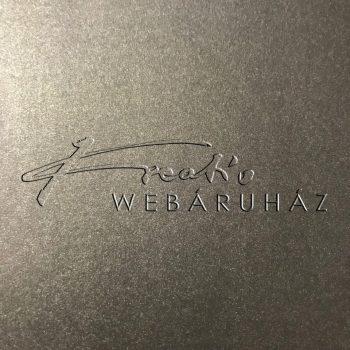 Deep Night Silver - Mélyezüst színű metál-fényű fényű MagnaMet karton papír 110gr, egyoldalas - 10 lap/csomag