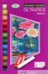Olajpasztell készlet 12 színű, vegyes színek - Royal WAX 12