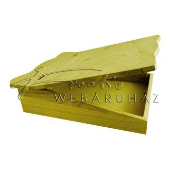 Hullámos tetejű doboz 28,5 x 7,5 x 24 cm