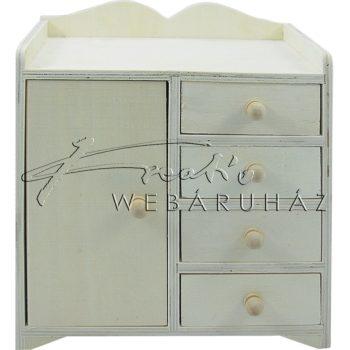 Díszíthető komód, 5 fiókos 20 x 14 x 22 cm