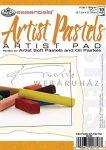 Művészpapír - Artist Pastels 150gr, 5 féle tónusú papír pasztellekhez, 18x13cm - Kifutó termék