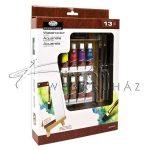 Akvarellfestő készlet kis asztali festőállvánnyal - Royal 13
