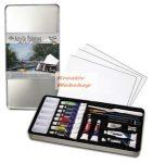 Akrilfestő Deluxe készlet - fém dobozban - Royal - 24db