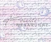 Kartonpapír - Just Married, esküvői Rózsaszín-fehér színű, feliratos, hattyú mintás Karton