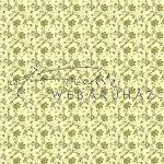 Design Papír - Óarany virágos - cream színű gyöngyház fényű papír 120gr