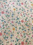 Transzparens papír - Kicsi virág - Sárga - 10 lap