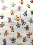 Transzparens papír- Hógolyózó gyerekek