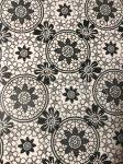 Transzparens papír - Virág mintás