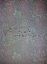Transzparens papír - Inda mintás levelekkel