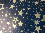 Arany csillag mintás Transzparens papír