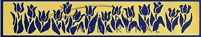Embossing sablon - Tulipán