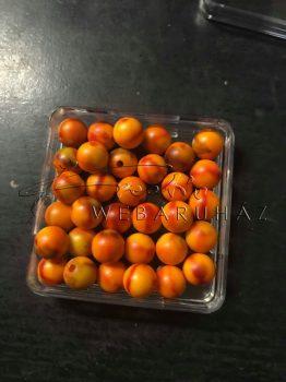 Márványozott gyöngy - 8 mm