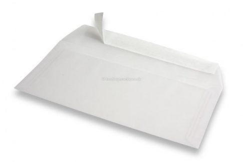Transzparens boríték, 11,2x15,5 cm - 3db / csomag