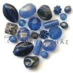 Kék Akril Kő- Barokk, Gyöngy