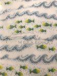 Transzparens papír - Mozaik halak - 10 lap