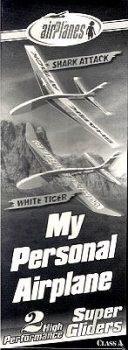 Repülő Modell - Shark Attack- White Tiger, festhető