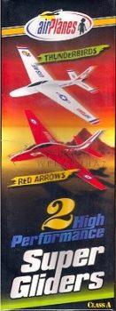 Repülő Modell - Thunderbirds- Red Arrows