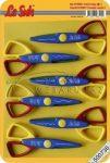 Mintavágó kreatív olló készlet - 6 db különböző élű olló