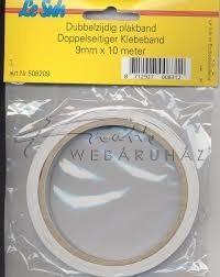Ragasztócsík 0,3mm vastag - 25 mm Kétoldalas átlátszó ragasztócsík