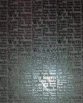 Transzparens papír - Német szavak (ezüst)