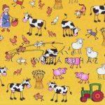 Transzparens papír - Vidéki farm