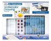 Nagy művészeti oktató készlet - Rajzolás akvarellceruzával