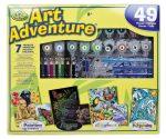 Szuper művész készlet - 40 részes ajándékkészlet nagyméretű dobozban