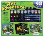 Szuper művész készlet - 40 részes ajándékkészlet nagyméretű dobozban - Vadállatos képek