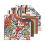 Origami papír - Graffiti mintás, 4 féle minta