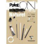 PaintON  rajzpapír-tömb, enyhén szemcsés papír, különböző technikákhoz 250 g/m2 30 ív 42 x 59,4 A2
