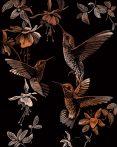Képkarcoló készlet karctűvel - 20x25 cm - Réz - Kolibrik