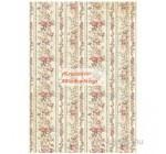 Dekupázs rizspapír A4 csomag - Apró rózsás minta