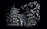 Kreatív hobby - Kyoto Templom