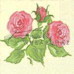 Rózsa, Szalvéta