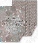Ezüst Mandala Kristály Karton