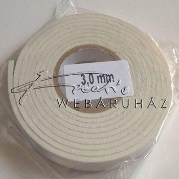 3mm vastag kétoldalas ragasztócsík 12mm széles