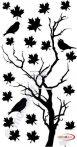 Fekete falmatrica Természet #8