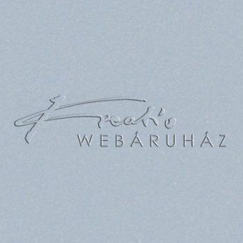 Metál fényű papír - Világoskék színű, metálfényű papír 120gr, Kétoldalas - Iceberg